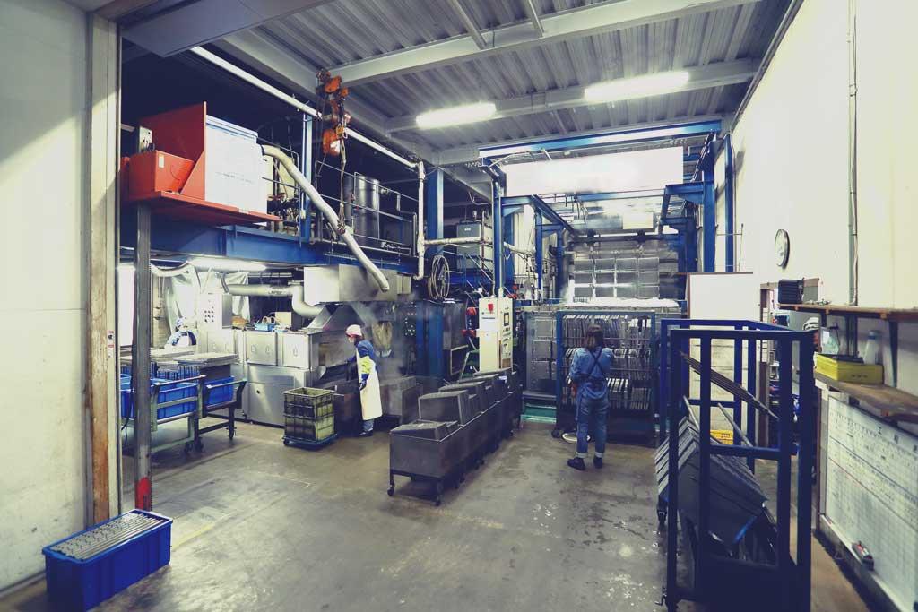 フィルター洗浄工程