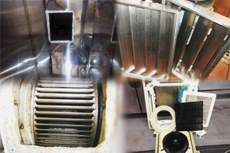 フード・ダクト清掃・防火ダンパー清掃・排気ファン清掃・エアコン清掃等々